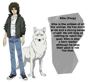 Kiba from Wolf's Rain